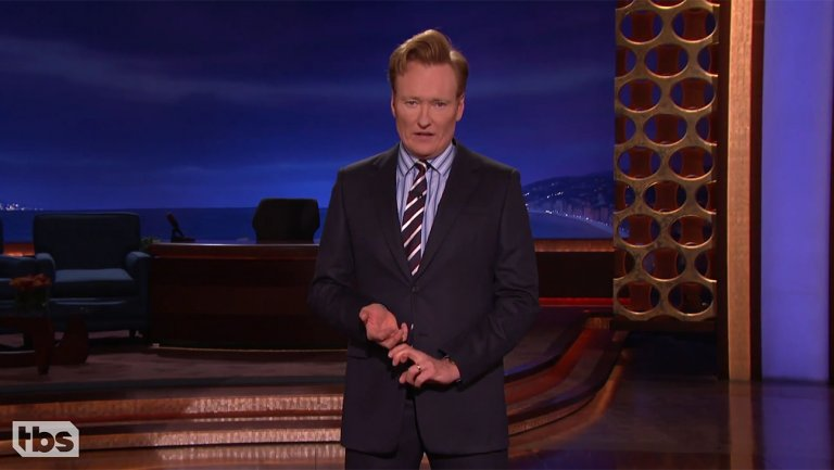 Conan O'Brien demands halt to lawsuit accusing him of stealing five jokes