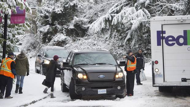 Blast of winter smashes snowfall records in Abbotsford,