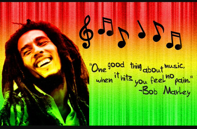 Happy birthday to one of the realest ... Bob Marley