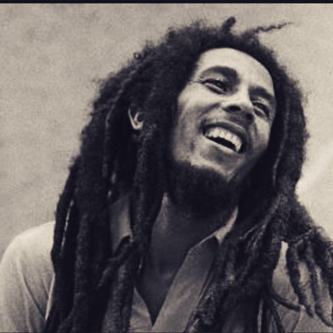 Happy Birthday Bob Marley. He would\ve been 72 years old today.