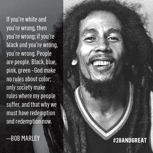 Happy birthday Bob Marley!