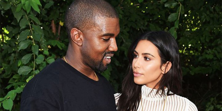 Kim Kardashian and Kanye West were 'very happy' during SuperBowl weekend family reunion