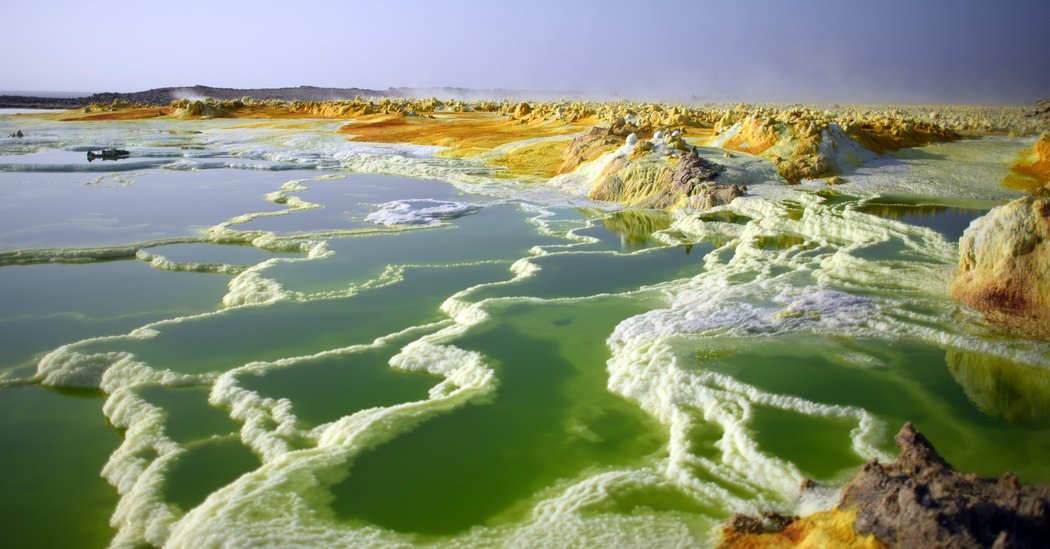 Gazing Into Danakil Depression's Mirror, and Seeing Mars Stare Back