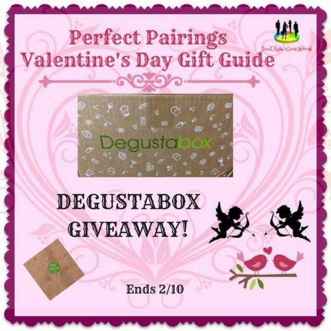 Degustabox Giveaway Ends 2/10 @Degustabox @SMGurusNetwork