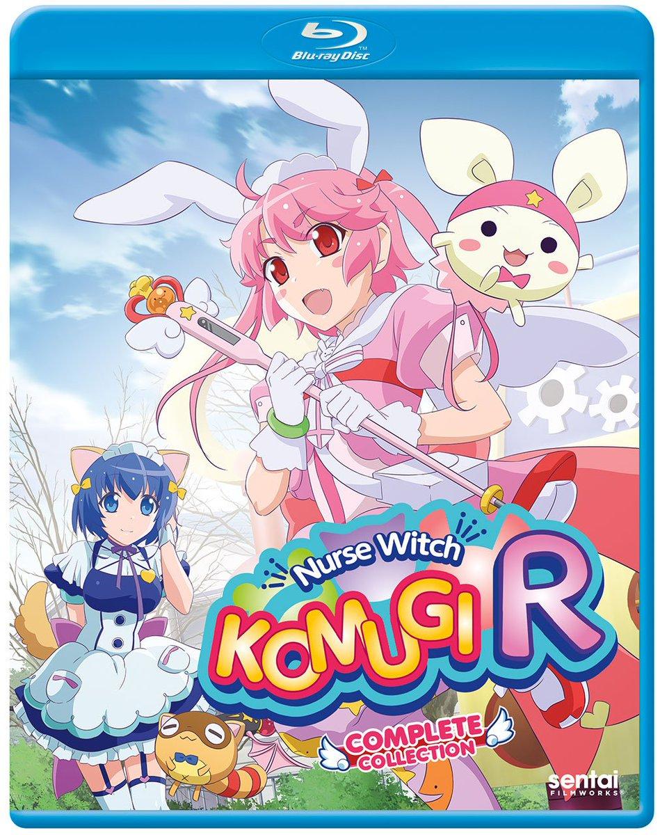米国盤Blu-ray新作情報:「ナースウィッチ小麦ちゃん マジカルて」を基にキャラクターや設定を一新して生まれ変わった日