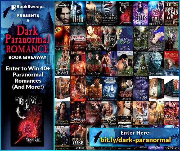 Enter to Win 40+ Dark Paranormal Romances!