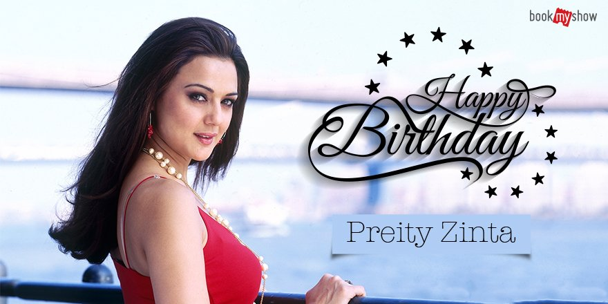 Wishing the very gorgeous Preity Zinta a very Happy Birthday.