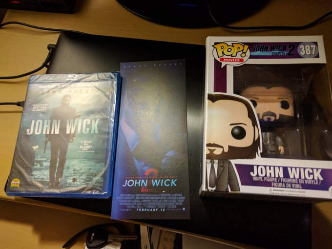 John Wick Chapter 2 Giveaway