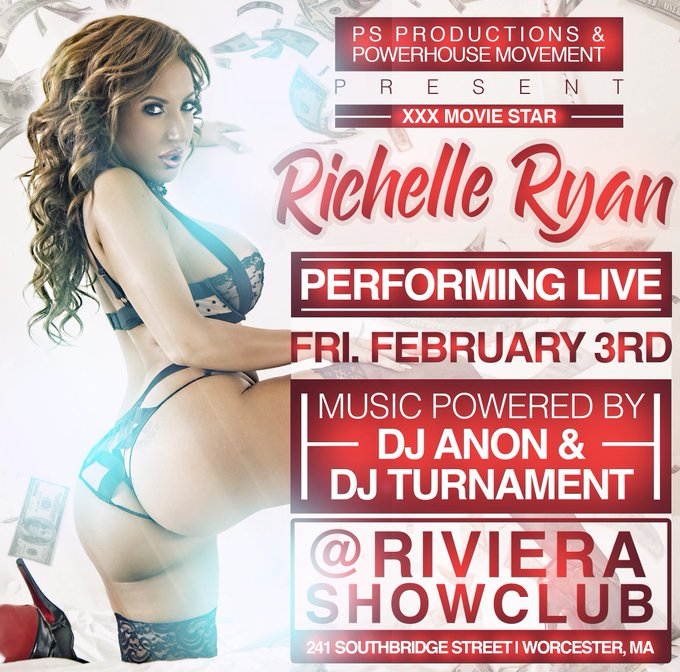 Superbowl weekend you can catch me at @RiveriaShowClub Feb 3-5 Stage Shows + Lapdances Come thru!! https://t