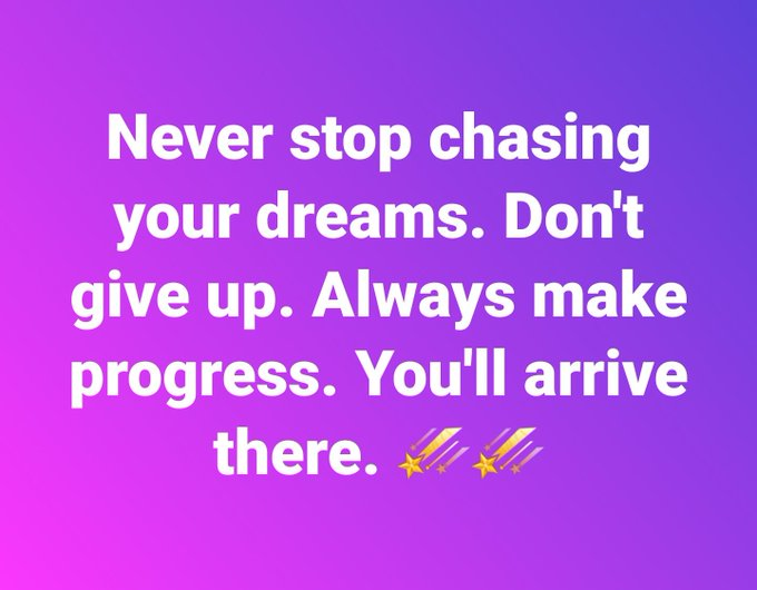 Don't Give Up. 🌌 https://t.co/sid9TiQBUo
