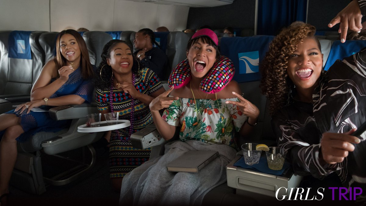 RT @ShadyNMSource: .@NICKIMINAJ's 'Pound The Alarm' is featured in the trailer for the upcoming film, 'Girls Trip'. https://t.co/nSIKGCWFsv