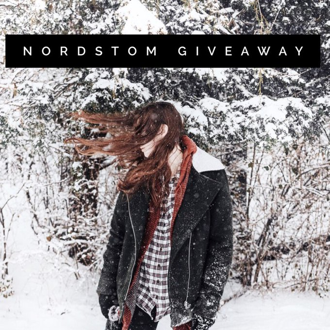 $200 Nordstrom Gift Card Giveaway (2/2 WW)