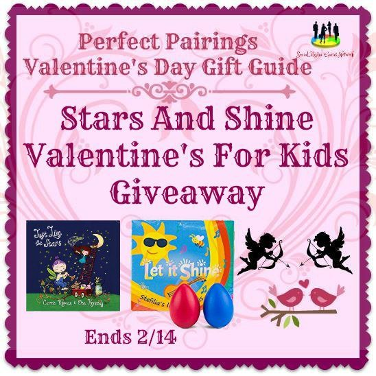 Stars and Shine Valentine's For Kids #Giveaway Ends 2/14 #SMGN