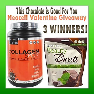 This Chocolate is Good For You Neocell Valentine Giveaway