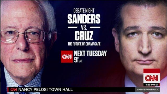 JUST IN: Sanders to debate Cruz live on CNN https://t.co/kmYX1omNsE
