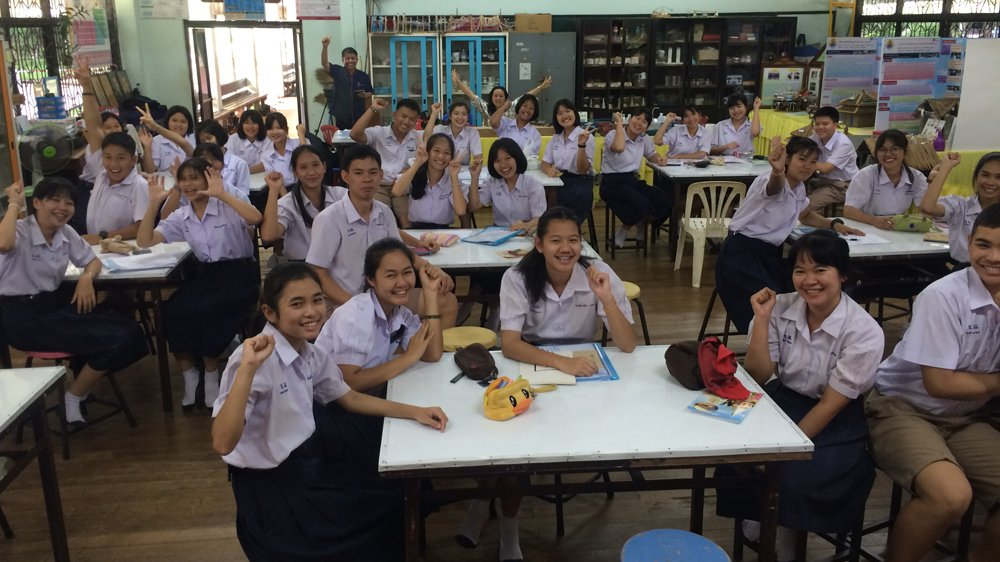 Can innovative science education turn Thai students into agents of change?  Rebel Education: