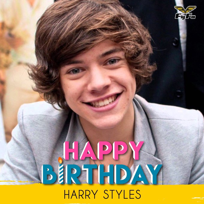 A to baby Harry for his birthday?? Yes please! HAPPY 23rd BIRTHDAY Harry Styles!! Who\s his fan??