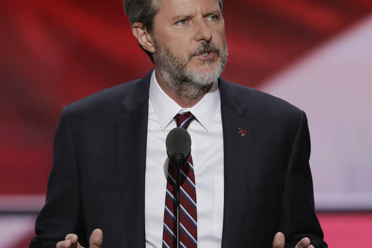 Jerry Falwell Jr. asked to lead Trump education task force