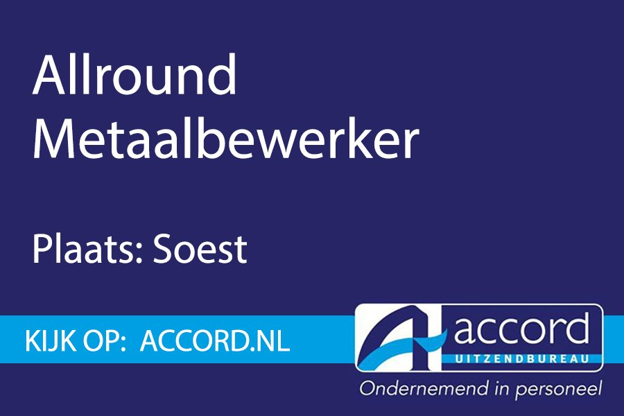 test Twitter Media - #Vacature: Allround metaalbewerker in Soest.  https://t.co/FjkzInPqUy https://t.co/BWURtayKaX