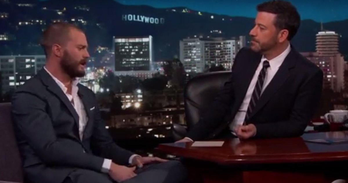 Jamie Dornan seemingly has mixed feelings about Hollywood thanks to Fabio: