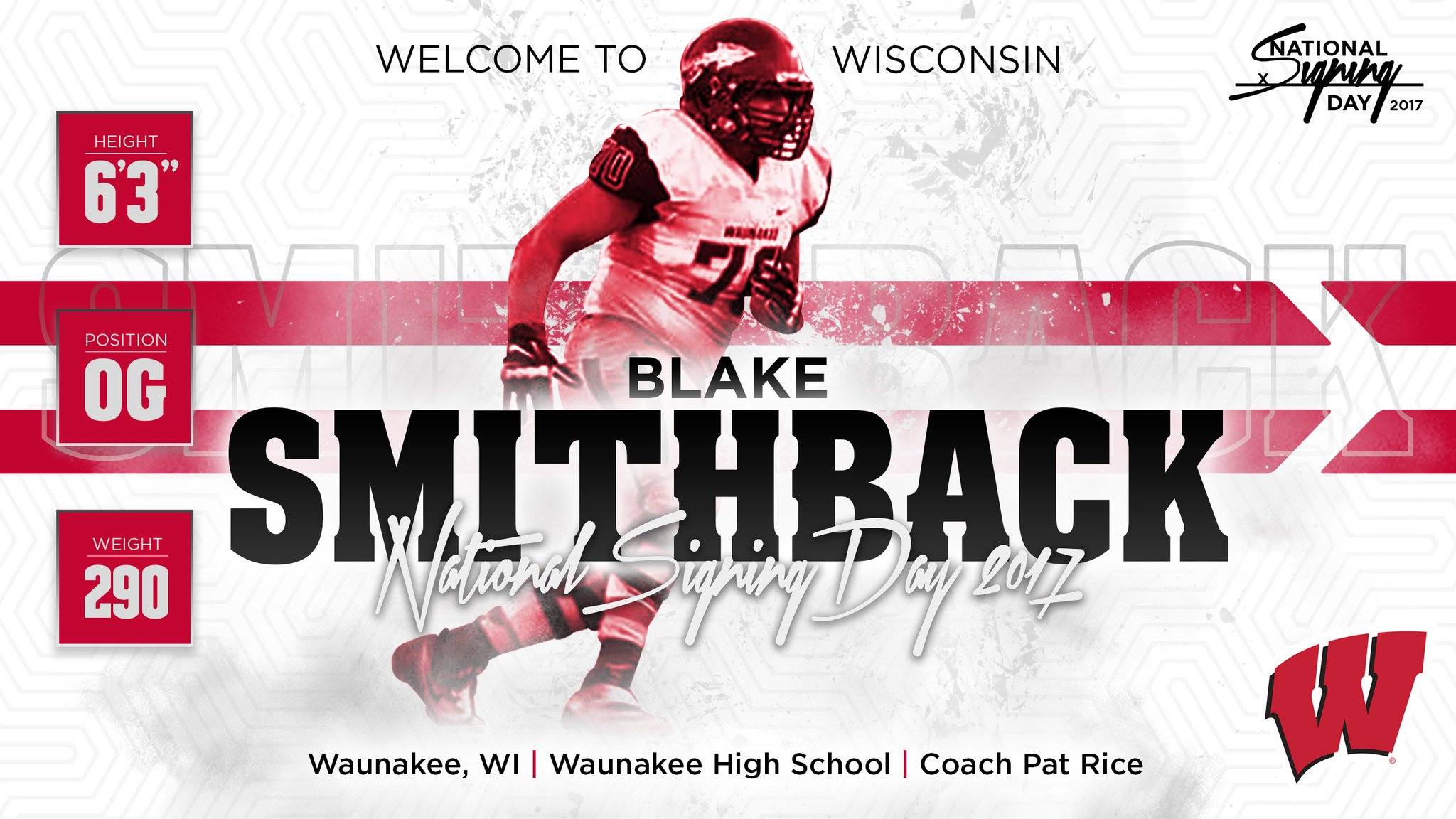 football wisconsin athletics national signing day 2017