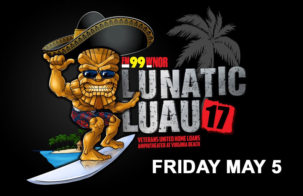 Pre-sale for @FM99's Lunatic Luau has started. Get your tickets now using password THESTAGE: https://t.co/ac2OEewcPT https://t.co/apw8q0umZT
