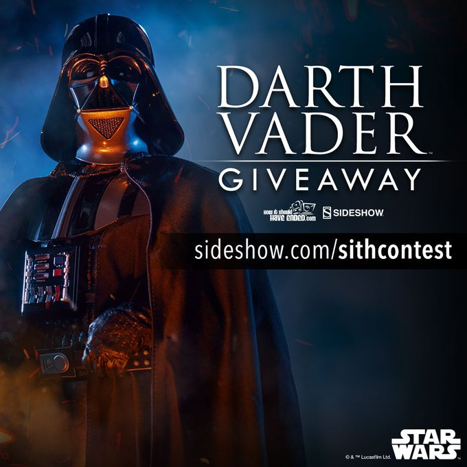 Darth Vader Sixth Scale Figure Giveaway