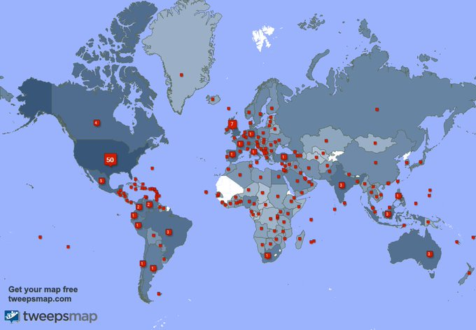 I have 575 new followers from Brazil, Egypt, Netherlands, and more last week. See https://t.co/Rw9AAvUybD