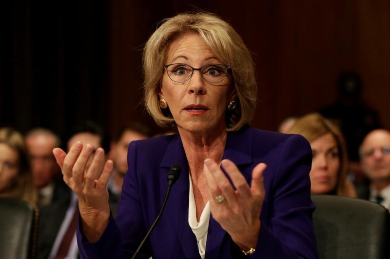 U.S. Senate support for Trump education nominee weakens
