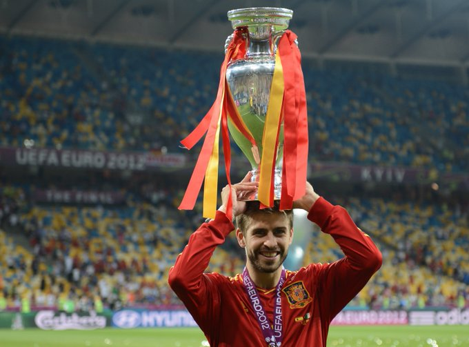 Happy 30th birthday, EURO 2012 winner & world champion Gerard Piqué!