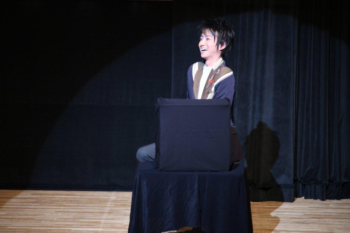 昨日までは「精霊の守り人」撮影。今日は、また何かが動き始めました。写真はファンクラブイベント@京都のオフショット