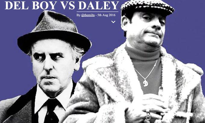 Happy Birthday David Jason (77) - DEL-BOY vs DALEY by
