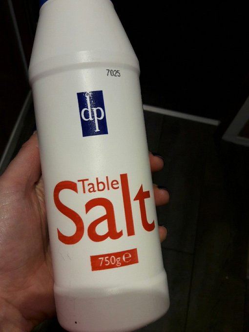 Lol pleasure salt https://t.co/vikrajviGN