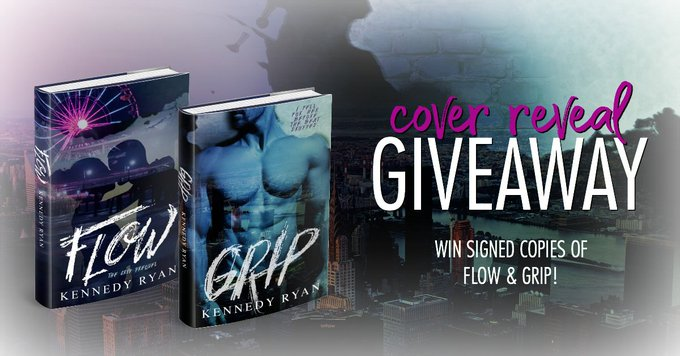 DOUBLE COVER REVEAL: Flow & Grip by Kennedy Ryan