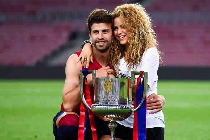 Happy birthday to Gerard Pique (30) and Shakira (40)!