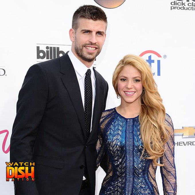 Happy 40th birthday to Shakira  AND 30th birthday to her main bae Spanish soccer star Gerard Piqué