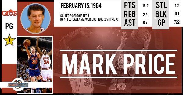 Happy birthday Mark Price !