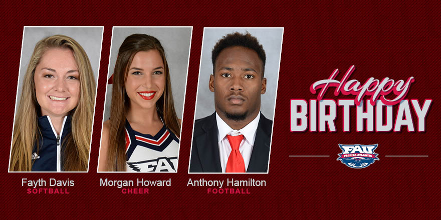 What do Fayth, Morgan and Anthony all have in common? They were born on February 19th! Happy birthday Owls!!