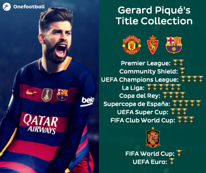 Happy 30th birthday to Gerard Piqué! Hate or love the guy, you can\t deny that is a true winner