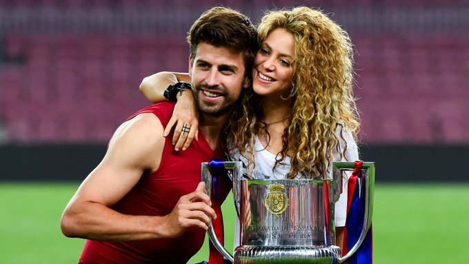 Happy birthday to Gerard Piqué and his wife, Shakira!   Here\s a little in their honor.