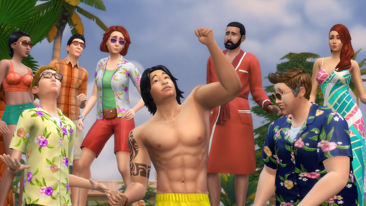 Sims 4 nagie nackt tube