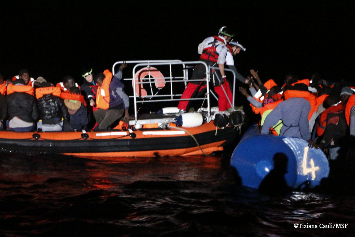 RT @MSF_Sea: Night rescues are genuinely terrifying. A simple mistake can cost a life. https://t.co/yO7fs8XIbu