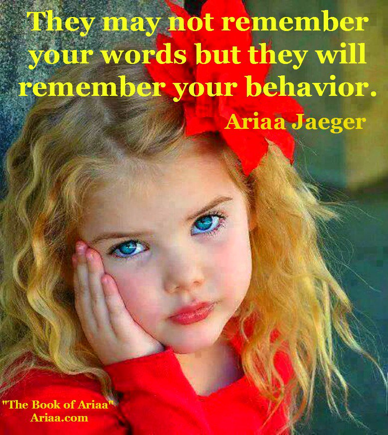 RT @KariJoys: #Children may not remember all your words, but...  #JoyTrain  #Joy #Love   RT @AriaaJaeger https://t.co/MH3vfBJcy3