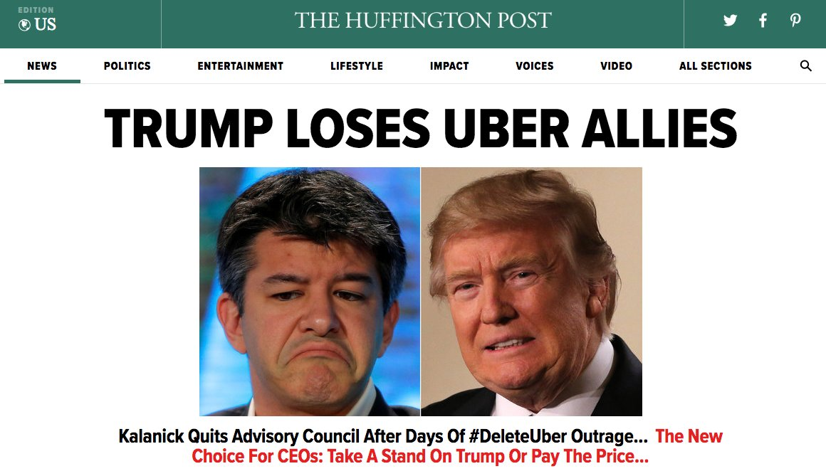 RT @aterkel: Front page of HuffPost right now https://t.co/URcgL0euZl