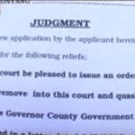 Kitale high court quashes decision by W. Pokot County Govt to sack 4 of its officials