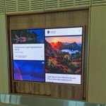Tourism Tasmania takes down airport display after dispute with Instagrammers