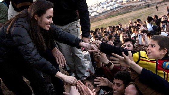 Angelina Jolie returns to activism amid Brad Pitt divorce drama: