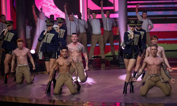 Dannii Minogue stars in raunchy 'Let It Shine' opening dance video clip from this weekend's new episode https://t.co/hR4mJo3IlG