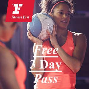 Free Fitness First 3 Day Gym Pass - free freebies freestuff latestfreestuff