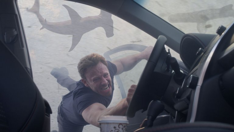 Sharknado5 a Go at Syfy With Original Stars Ian Ziering and Tara Reid